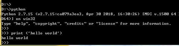 【Python入门】(二)、第一个Python程序